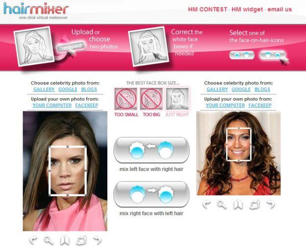 HairMixer fotomontaggi gratis per le donne